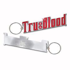 True Blood Enamel Keychain Logo