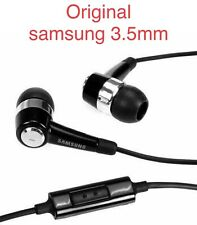 Original Samsung 3.5mm Stereo Headset With Remote and Mic Black