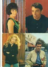 LOT DE 4 PHOTOS Jacques BREL Patricia CARLI Sylvie VARTAN Frank ALAMO
