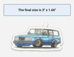 RARE VOLVO 240 244 245 Magnets 🧲 Set Of 4