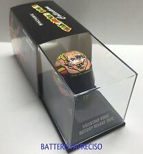 MINICHAMPS VALENTINO ROSSI AGV HELMET 1/8 DUCATI 2012 GP MISANO CASCO 398120096