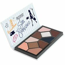 Coastal Scents Passport to San Francisco 10 Eyeshadow Palette, 3 Ounce