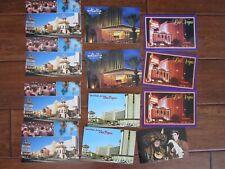 Vintage Lot of 12 Las Vegas Postcards  El Rancho Riviera Aladdin Vegas World