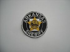 """""""Vintage""""  Arkansas Sheriff Police Sleeve Patch """"New Condition"""""""