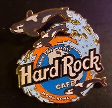 Hard Rock Cafe Pin Hong Kong - Save the Whale (#3019)  1997