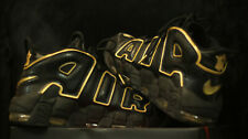 Nike Air More Uptempo 96 Negro/Oro 10.5 Reino Unido Francia