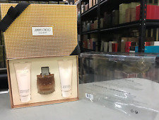 JIMMY CHOO by Jimmy Choo 3 Piece NEW Gift Set with 3.3 oz EDP SPRAY for Women