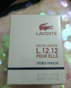 Lacoste L.12.12 French Panache - Pour Elle EDT 90ml - New & Sealed