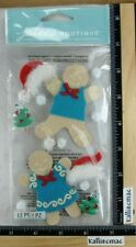 Jolee's GINGERBREAD COUPLE Boutique Stickers CHRISTMAS MR & MRS GINGERBREAD MEN