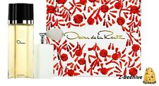Oscar De La Renta EDT 3.4 oz. Perfume & Silky Body Body Powder Atomizer Sealed
