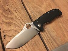 """Spyderco LionSpy Folding Pocket Knife (3.62"""" Satin Plain) C157GTIP Lion Spy"""