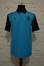 ASTON VILLA POLO FOOTBALL SHIRT 2018/2019 SOCCER JERSEY PRE MATCH M LUKE 1977