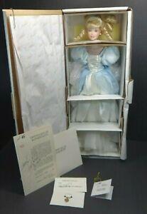 "Marie Osmond Cinderella Porcelain Doll 18"" NRFB Limited Edition 1999"