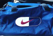 Vintage Nike Duffle Bag Blue/Red Swoosh Vintage 1990s