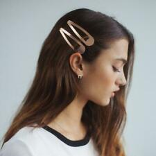 Kitsch XL Snap Clips for Hair, 14k Gold Plated, Premium, Rose Gold♡