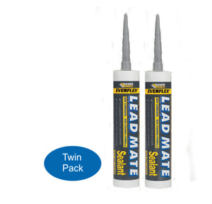 Leadmate in Grey, Everbuild, C3 Tubes Twin Pack (2 tubes) **Special Offer**