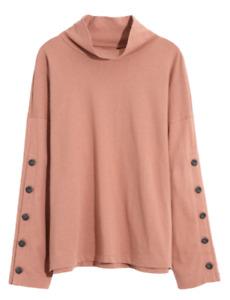 NEW MADEWELL Women's Long Sleeve 100% Cotton Organic Turtleneck Size XXS MC259