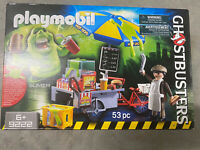 PLAYMOBIL GHOSTBUSTERS #9222 Slimer with Hot Dog Stand - New Factory Sealed