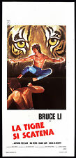 CINEMA-locandina LA TIGRE SI SCATENA bruce lee, HUNG