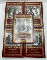 5V Easton Press COUNT OF MONTE CRISTO Alexandre Dumas Collector'S DELUXE Edition
