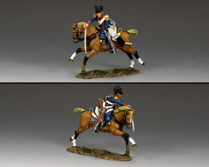 KING & COUNTRY THE AGE OF NAPOLEON NA427 KGL DRAGOON WITH SWORD DOWN MIB