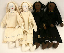 dolls chiffon calico rug antique old style fashion toy collectable boy or girl