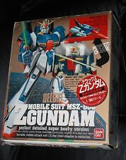 Z GUNDAM DELUXE MOBILE SUIT MSZ-006 1/100 SCALE BANDAI free shipping USA used