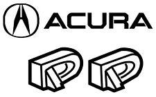 For Acura TL 3.2 3.5 Set Pair of 2 Genuine Passenger Door Handles Lock Cover Cap