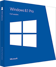 Microsoft Windows 8.1 Pro 32/64 Bit (Lizenz ESD Downloadversion) Vollversion KEY