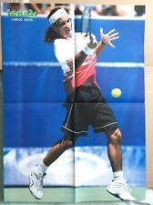 CARLOS MOYA Original Vintage French Tennis Magazine Poster