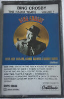 The Radio Years Vol 1 ~ Bing Crosby (Cassette) With Judy Garland, Connee Boswell