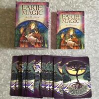 Steven D Farmer Earth Magic AUTHENTIC 48 Oracle Cards COMPLETE w/ Guide Book OOP