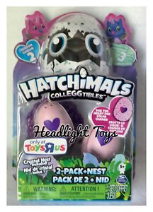 Hatchimals Colleggtibles OWLICORN 2 Pack + Crystal Nest Season 2 TOYS R US NEW