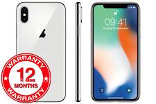 Apple iPhone X - 64GB 256GB - Unlocked SIM Free Smartphone All Colours Grades