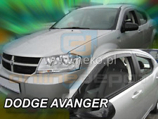 Wind Deflectors DODGE AVENGER 4-doors 2008-2015 4-pc HEKO Tinted