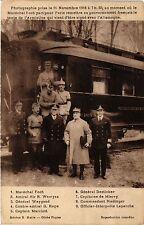 CPA Militaire, Photographie prise le 11 Novembre 1918 a 7 h 30 au momen (362103)