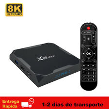 Android 9.0 X96MAX Plus TV Box Amlogic S905X3 8K HDR 2.4G/5G Wifi BT 4.0 TV Caja