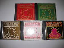 A Very Special Christmas 5 CD LOT 1 2 3 Live 5 81 Tracks