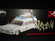 Hot Wheels Elite Cult Classic Ghostbuster ECTO 1 with figures BLY25 1/18