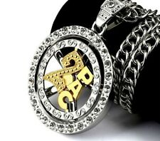 2PAC Pendant Chain/ Hip Hop Necklace /  Men's Jewellery/ Rotating Chain.   NEW