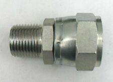 AF 9100-04-05 - 1/4 Male Pipe X 5/16 Female JIC Swivel