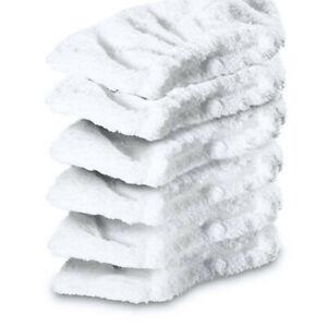 6X Terry Cloth Cover Pad For Karcher SC 5 EasyFix Premium 15125540 1.512-554.0