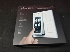 Wink Relay Smart Home Touchscreen Control Panel 2x Smart light Switch