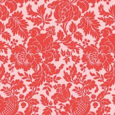 Anna Griffin -Grace - Fortuny Damask Red, cotton quilting fabric
