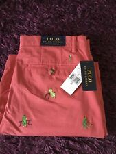 BNWT Smart 100% Genuine Ralph Lauren 'Stretch Classic Fit' Shorts In Size 33