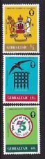 GIBRALTAR 1982 ANNIVERSARIES SET NEVER HINGED MINT