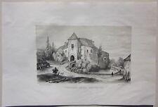 1838 CHATEAU CONDEMINE lito Lehnert Allier Desrosiers Buxières-les-Mines Moulins