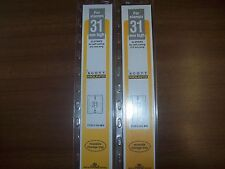 2 Packages Prinz-Scott Stamp Mounts Size 31/215 in BLACK Background