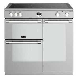 Stoves Sterling Deluxe S900Ei Stainless Steel 90cm Electric Induction(444444940)