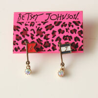 New Betsey Johnson Enamel Flag drop Earrings Gift Fashion Women Party Jewelry FS